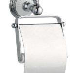 Держатель для туалетной бумаги с крышкой Vogue