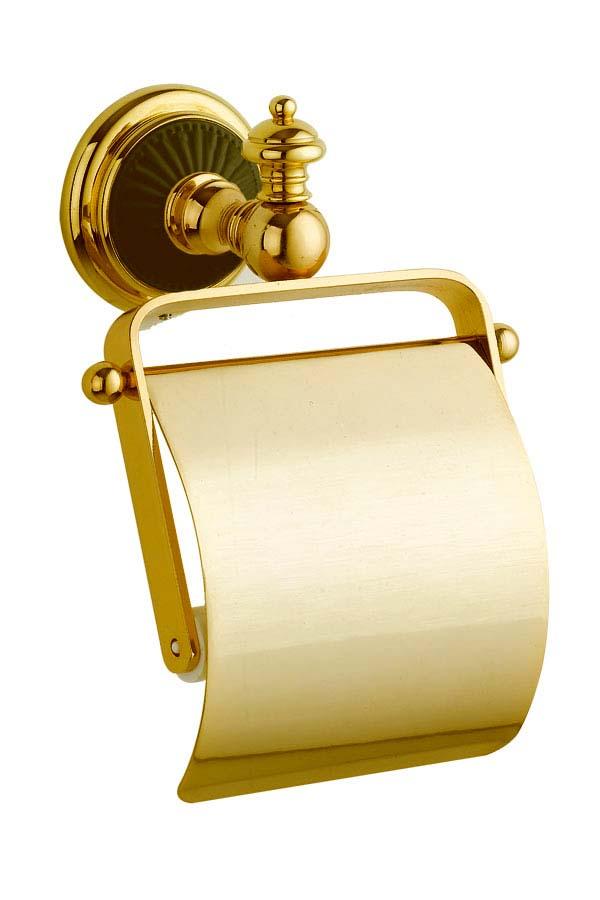 Держатель для туалетной бумаги с крышкой Palazzo