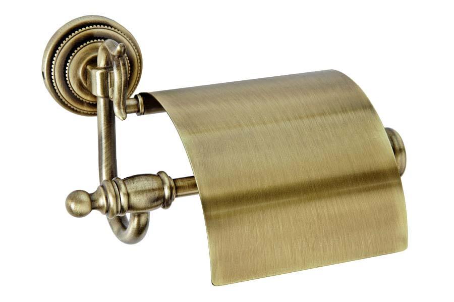 Держатель для туалетной бумаги с крышкой Medici