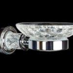 Мыльница(стекло кракле) Murano Cristal