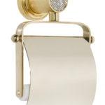 Держатель для туалетной бумаги с крышкой RoyalCristal