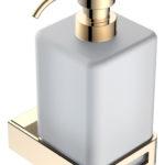 диспенсер для жидкого мыла Gold коллекция Q