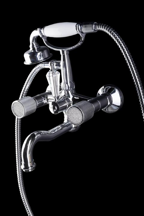 Смеситель Royal Cristal для ванны(душевой комплект)