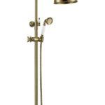 Стойка с верхним душем(20 см) Medici