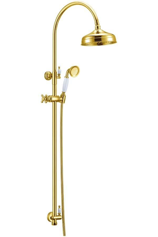 Стойка с верхним душем(20 см) IMPERIALE