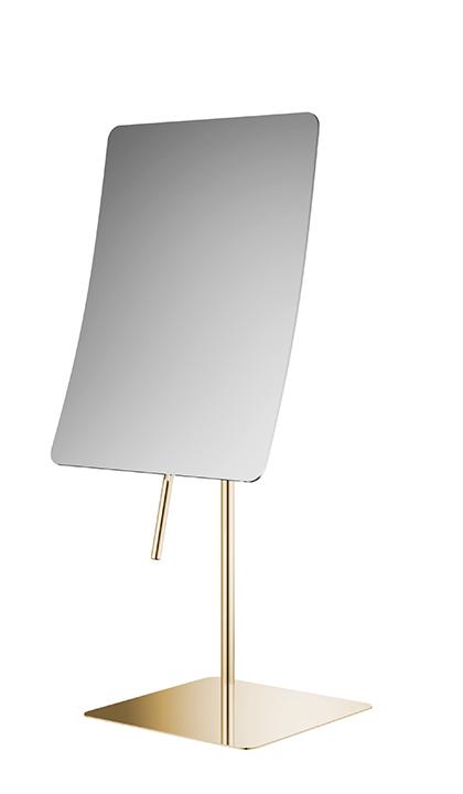 Настольное зеркало-квадратное золото