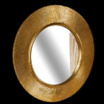 Зеркало SHINE золото d82