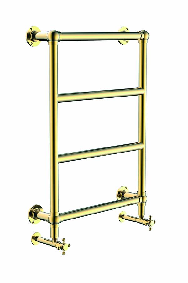 Полотенцесушитель Palazzo,золото,750x500mm,водяной