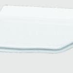 крышка для унитаза Hermitage (петли золото) микролифт Ультратонкое съемное сиденье для удобства уборки.