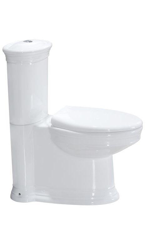 Унитаз с бачком напольный Puro, без сиденья