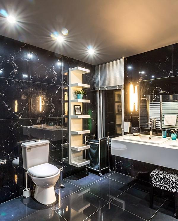 Оформление ванных комнат