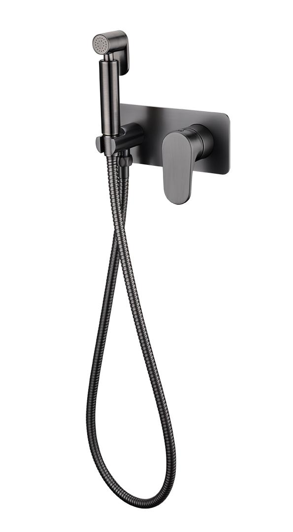 Гигиенический душ со смесителем SPECTRE Gunmetal