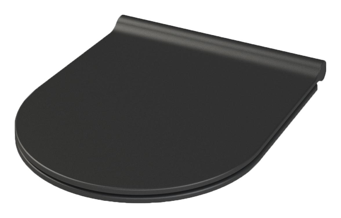 Nero крышка для унитаза SLIM черная матовая