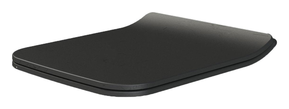 Mirage (Zen) крышка для унитаза SLIM матовый черный