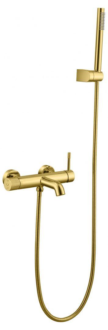 Смеситель для ванны, Uno. Gold