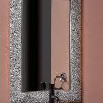 Зеркало AURA 60*90 серебро, с подсветкой