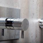 Душевая система скрытого монтажа Boheme FUSION, хром. Смеситель+ручной душ+верхний душ