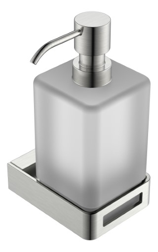 диспенсер для жидкого мыла NikelBrush коллекция Q