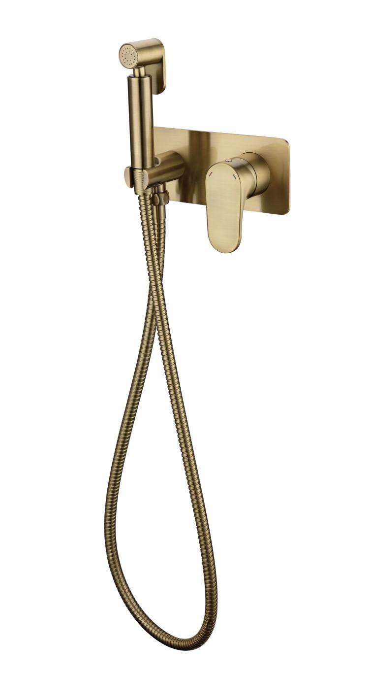 Гигиенический душ со смесителем SPECTRE Bronze