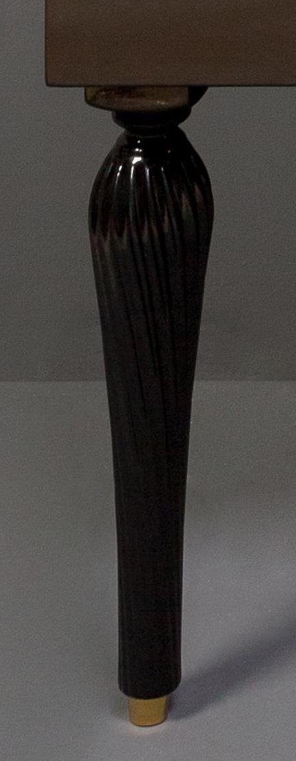 Ножки SPIRALE 35 см черные (пара)