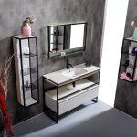 Столешница моноблок Vallessi 120 белая керамика